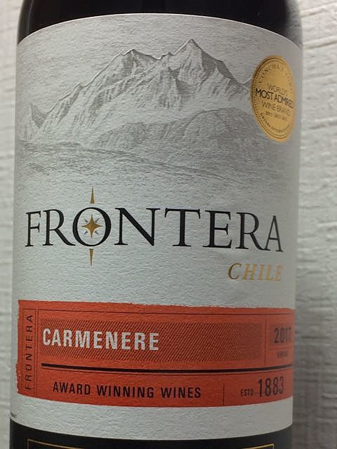 Frontera Carmenere(フロンテラ カルメネール)