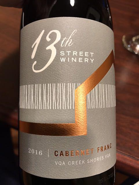 13th Street Winery Cabernet Franc(サーティーンス・ストリート・ワイナリー カベルネ・フラン)