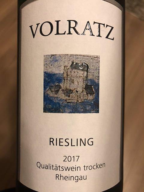 Volratz Riesling Q.b.A. trocken
