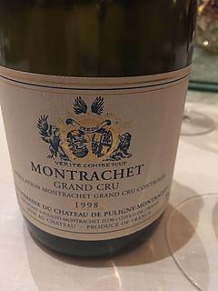 Ch. de Puligny Montrachet Montrachet Grand Cru(シャトー・ド・ピュリニー・モンラッシェ モンラッシェ グラン・クリュ)