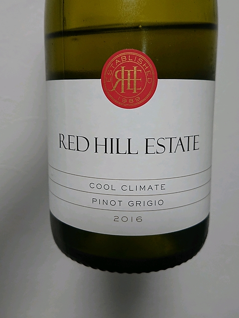 Red Hill Estate Cool Climate Pinot Grigio(レッド・ヒル・エステート クール・クライメート ピノ・グリージョ)