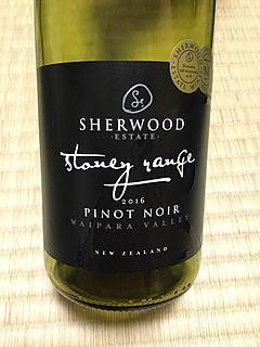 Sherwood Estate Stoney Range Pinot Noir