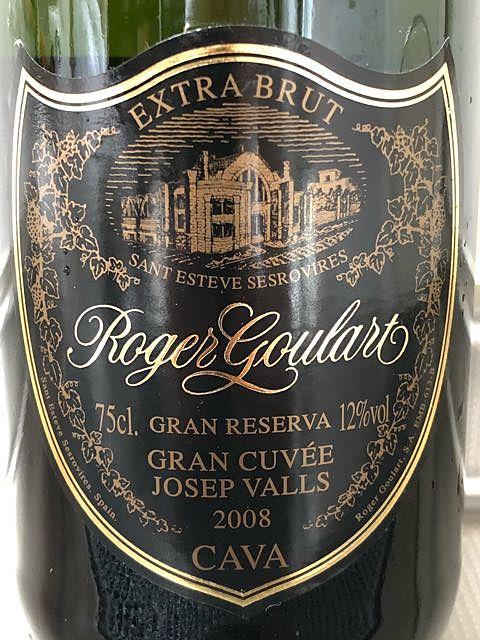 Roger Goulart Gran Cuvée Josep Valls Extra Brut(ロジャー・グラート グラン・キュヴェ ジョセップ・ヴァイス エクストラ・ブリュット)