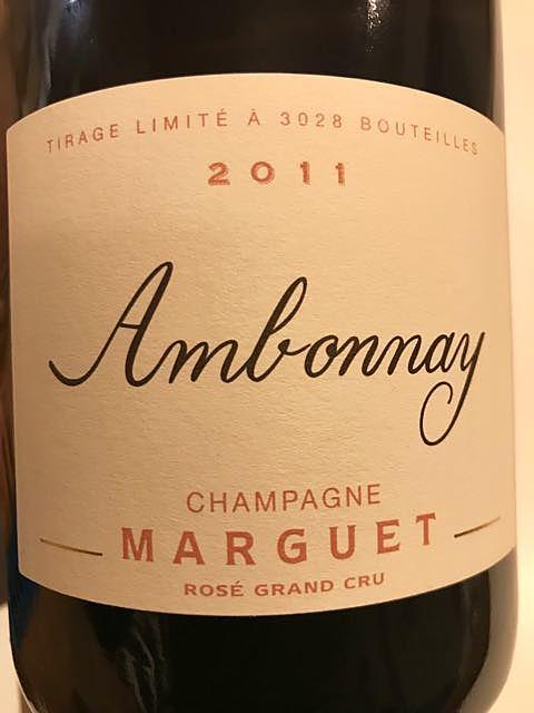 Champagne Marguet Ambonnay Rosé Grand Cru