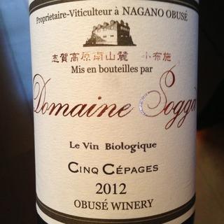 小布施ワイナリー Dom. Sogga Le Vin Biologique Cinq Cepages