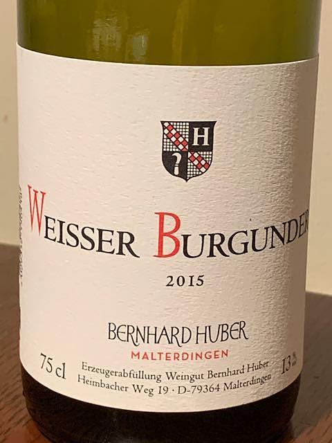 Bernhard Huber Weisser Burgunder trocken