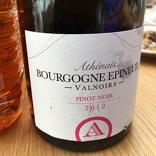 Athénaïs Bourgogne Epineuil Valnoirs
