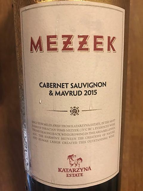 Mezzek White Soil Cabernet Sauvignon & Mavrud