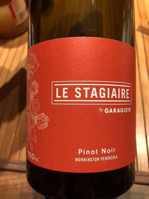 Garagiste Le Stagiaire Pinot Noir(ガラジスト ル・スタジアーレ ピノ・ノワール)