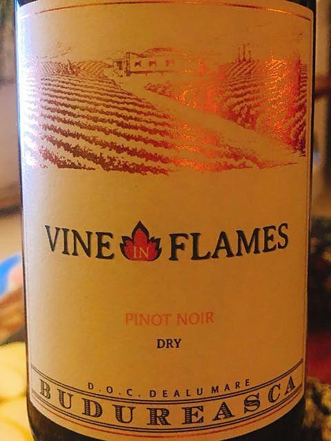 Budureasca Vine in Flames Pinot Noir(ブドゥレアスカ ヴァイン・イン・フレーム ピノ・ノワール)