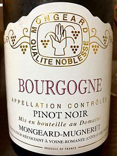 Mongeard Mugneret Bourgogne Pinot Noir