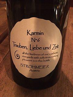 Strohmeier Trauben, Liebe und Zeit Karmin N°6