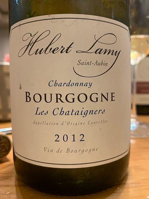 Hubert Lamy Bourgogne Blanc Les Chataigniers(ユベール・ラミー ブルゴーニュ・ブラン レ・シャテーニェ)