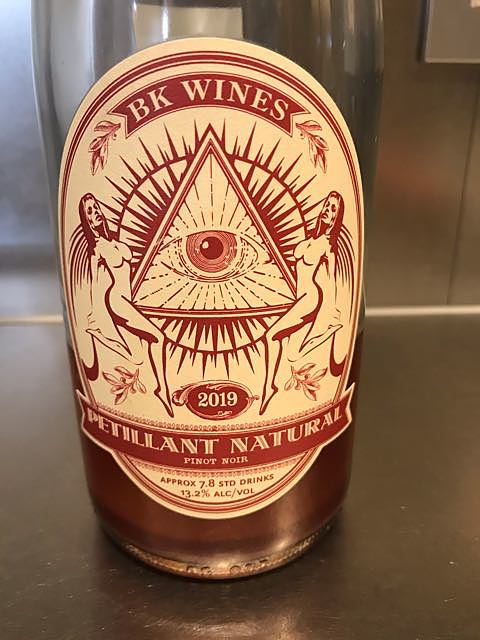 BK Wines Pétillant Naturel Pinot Noir