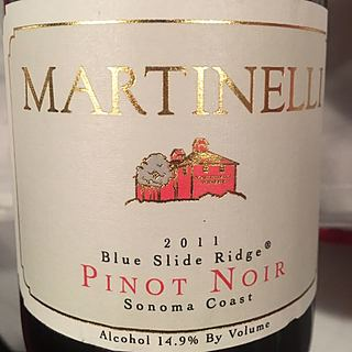 Martinelli Blue Slide Ridge Pinot Noir
