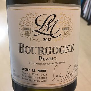 Lucien Le Moine Bourgogne Blanc(ルシアン・ル・モワンヌ ブルゴーニュ ブラン)