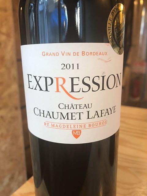 Ch. Chaumet Lafaye Expression(シャトー・ショーメ・ラファイエ エクスプレシオン)