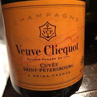 Veuve Clicquot Cuvée Saint Pètersbourg