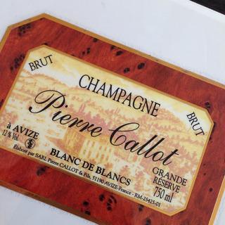 Pierre Callot Avize Grand Réserve Brut Blanc de Blancs