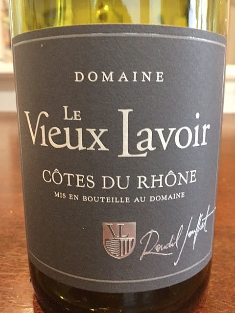 Dom. Le Vieux Lavoir Côtes du Rhône Rouge(ドメーヌ・レ・ビュー・ラヴォアール コート・デュ・ローヌ ルージュ)