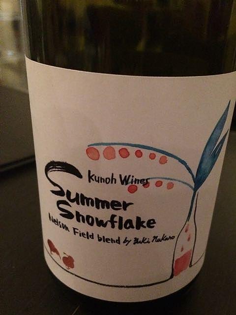 Kunoh Wines Summer Snowflake