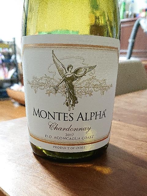 Montes Alpha Chardonnay(モンテス・アルファ シャルドネ)