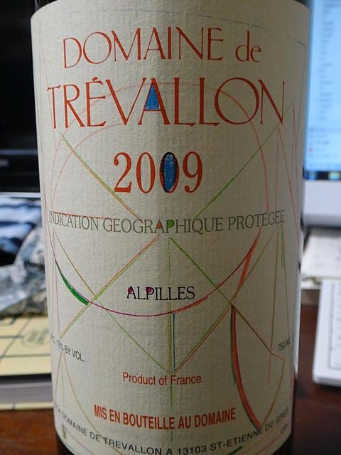 Dom. de Trévallon Rouge 2009