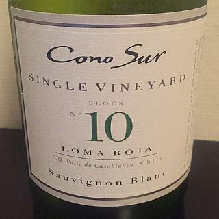 Cono Sur Single Vineyard No.10 Sauvignon Blanc(コノ・スル シングル・ヴィンヤード No.10 ソーヴィニヨン・ブラン)