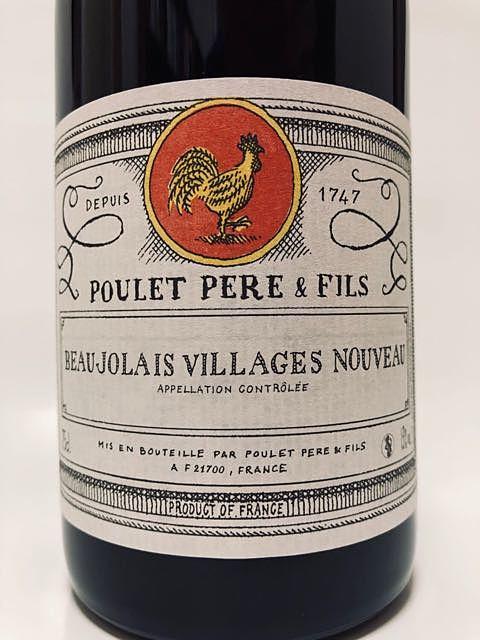 Poulet Père & Fils Beaujolais Villages Nouveau