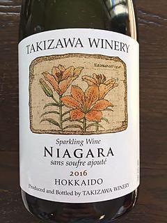 Takizawa Winery Niagara Sparkling Sans Soufre Ajouté