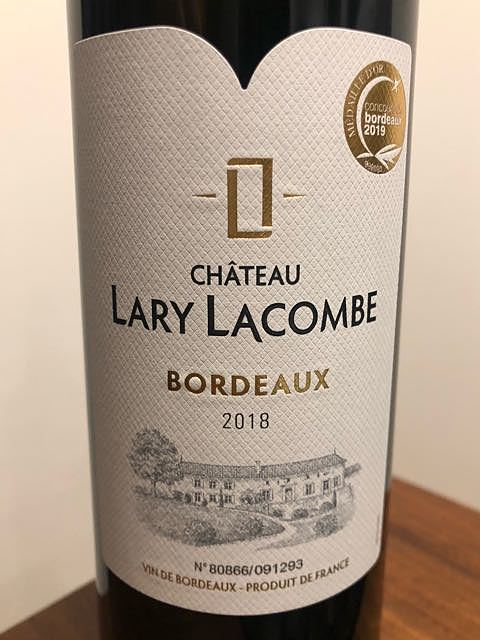 Ch. Lary Lacombe Bordeaux Rouge(シャトー・ラリー・ラコンブ)