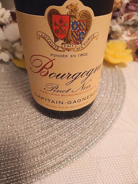 Capitain Gagnerot Bourgogne Pinot Noir(カピタン・ガニュロ ブルゴーニュ ピノ・ノワール)