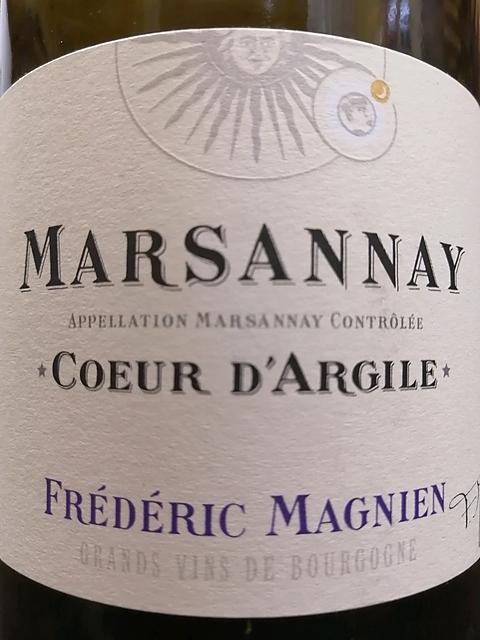 Frédéric Magnien Marsannay Coeur d'Argile