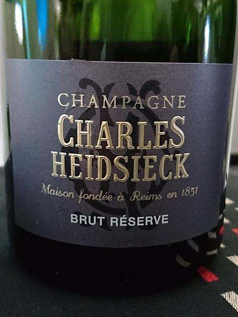 Charles Heidsieck Brut Réserve(シャルル・エドシック ブリュット・リザーヴ)