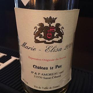 Ch. Le Puy Marie Elisa
