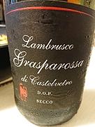 セッテカーニ ランブルスコ グラスパロッサ・ディ・カステルヴェートロ セッコ