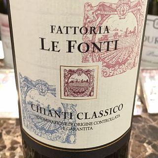 Fattoria Le Fonti Chianti Classico