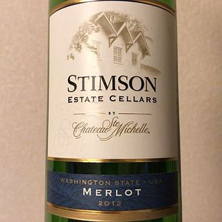 Stimson Estate Cellars by Ch. Ste. Michelle Merlot(スティムソン・エステート・セラーズ メルロ)
