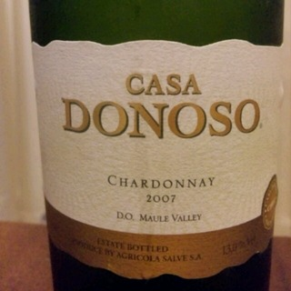 Casa Donoso Chardonnay