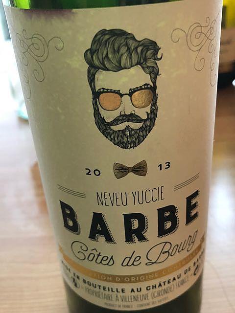 Barbe Neveu Yuccie Côtes de Bourg