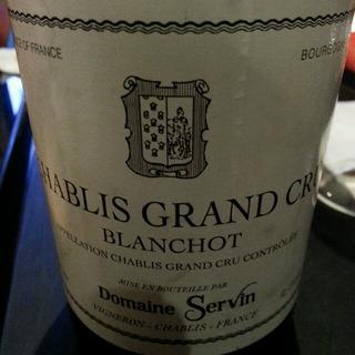 Dom. Servin Chablis Grand Cru Blanchot