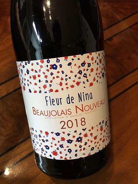 Fleur de Nina Beaujolais Nouveau(フルール・ド・ニナ ボージョレ・ヌーボー)
