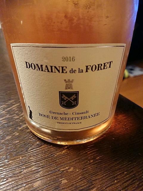 Dom. de la Forêt Rosé de Méditerranée(ドメーヌ・ド・ラ・フォレ ロゼ・ド・メディテラネ)