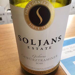 Soljans Estate Gisborne Gewürztraminer