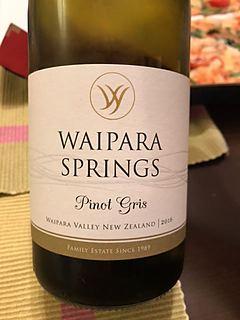 Waipara Springs Pinot Gris