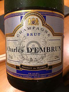 Champagne Charles d'Embrun Brut