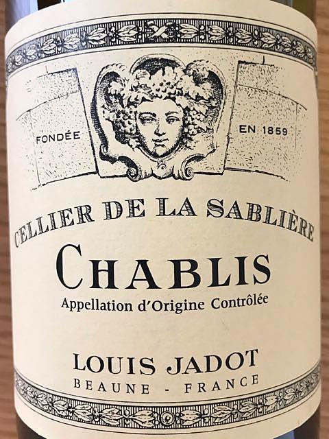Louis Jadot Chablis Cellier de la Sablière(ルイ・ジャド シャブリ セリエ・ド・ラ・サブリエール)