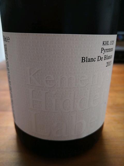 Kemenys Hidden Label KHL 1325 Pyrenees Blanc de Blancs