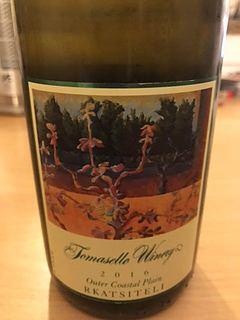 Tomasello Winery Outer Coastal Plain Rkatsiteli(トマセロ・ワイナリー アウター・コースタル・プレーン ルカツィテリ)