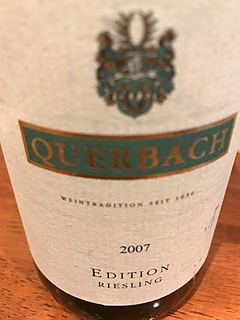 Querbach Edition Riesling(クヴェアバッハ エディション リースリング)